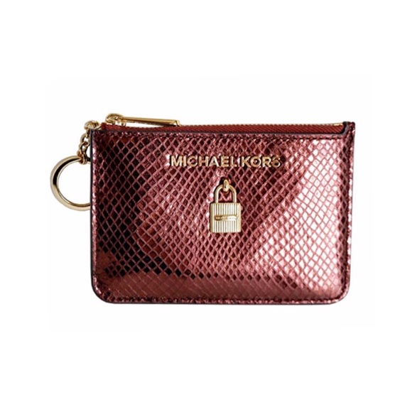9e6aaccaaf6d Michael Kors Adele Small Zip Coin Pouch ID Wallet